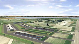 Her er planene for kampflybasen på Ørland
