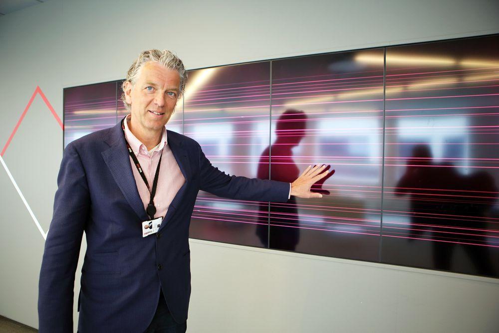 Elektrisk: Fremtiden er elektrisk, derfor vil Statnett sjef Auke Lont bygge neste generasjons kraftsystem.