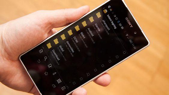Androids åpne filsystem gjør det enkelt å dele filer mellom apper, og gjør det mulig å ta sikkerhetskopier og slikt fra apper.