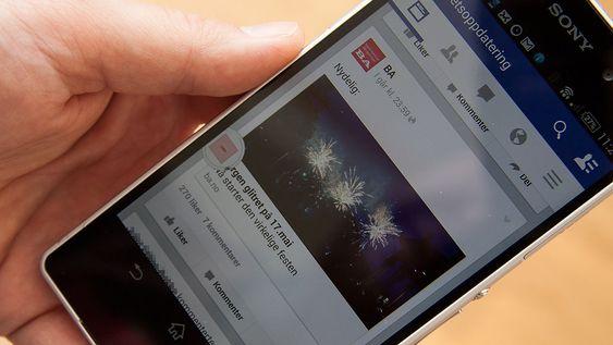 Link Bubble lager en boble når du trykker på en lenke i for eksempel Facebook. Nettsiden lastes i bakgrunnen, slik at du slipper å vente på at den skal lastes.