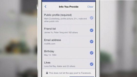 Det blir nå enklere å begrense hvilke data man ønsker å dele med tredjeparts-apper tilknyttet Facebook.