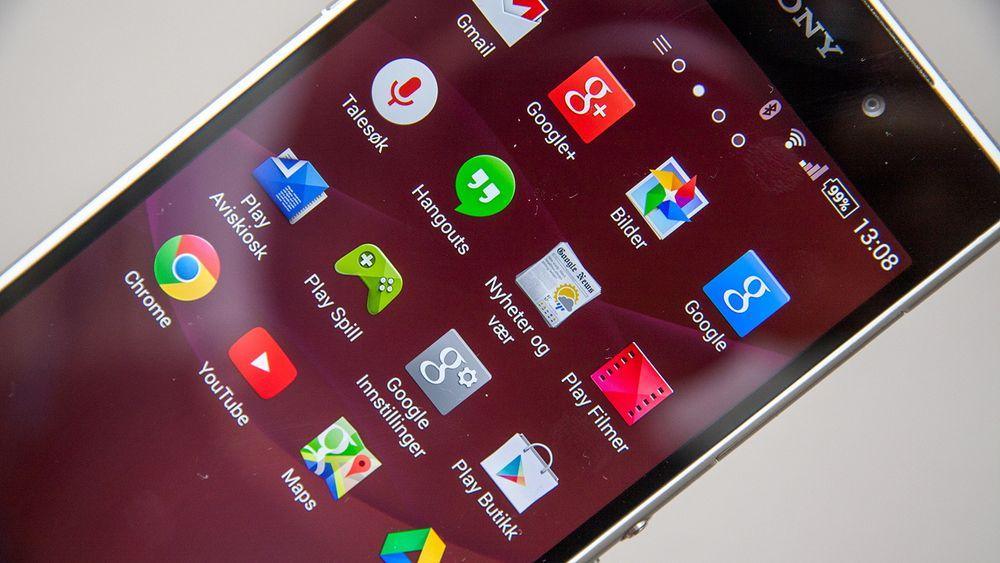 Disse appene følger med Android-telefonen din fordi Google krever det av mobilprodusenten.