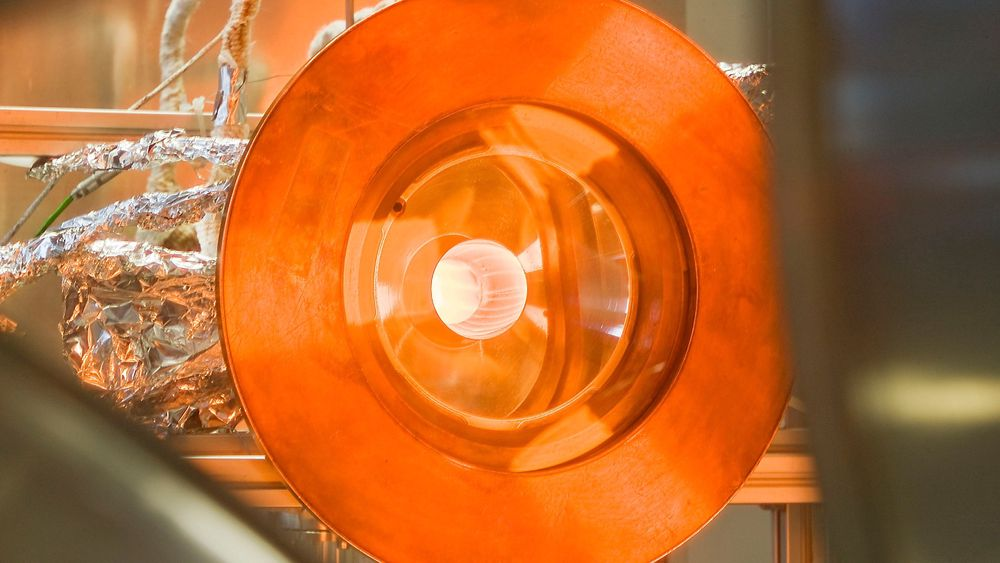 I denne reaktoren har forskere klart å lage drivstoff av CO2 og vann.