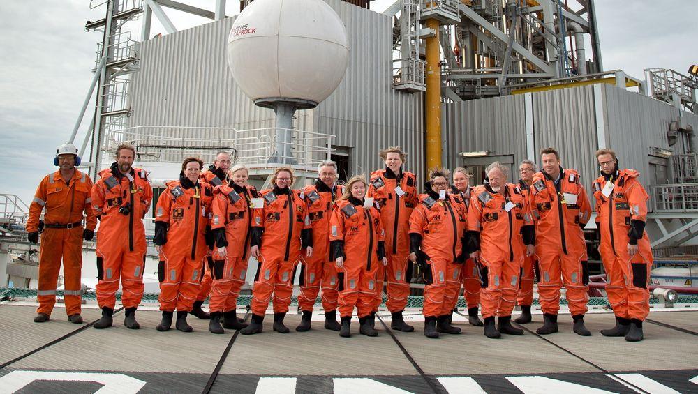 Energi- og miljøkomiteen var i forrige uke på besøk på Island Innovator, som har vært i aktivitet på Edvard Grieg-feltet på Utsirahøyden.