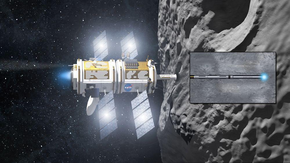 TIL ROMMET: Teknologien til Zaptec kan bli brukt i et plasmabasert boresystem til kartlegging av mineraler, geologi og vannforekomster på Mars, men også til søking etter liv nedi bakken. Nasa er i full gang med å se på teknologien.