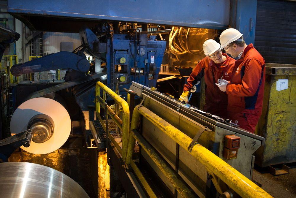 Hydro Holmestrand. En bedrift LO vil beholde på norske hender og norsk kontroll.