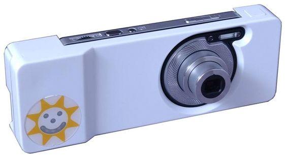 Skjelekamera: Selve skjelekameraet er en hybridmodell mellom et kompaktkamera og en mobiltelefon. Det kan ta svært gode bilder og kan kjøre programvaren som er utviklet for å avsløre skjelingen.