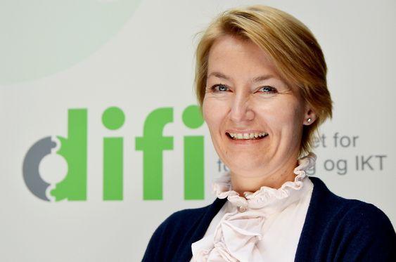 Birgitte Egset, fagdirektør Sikker post, Difi.