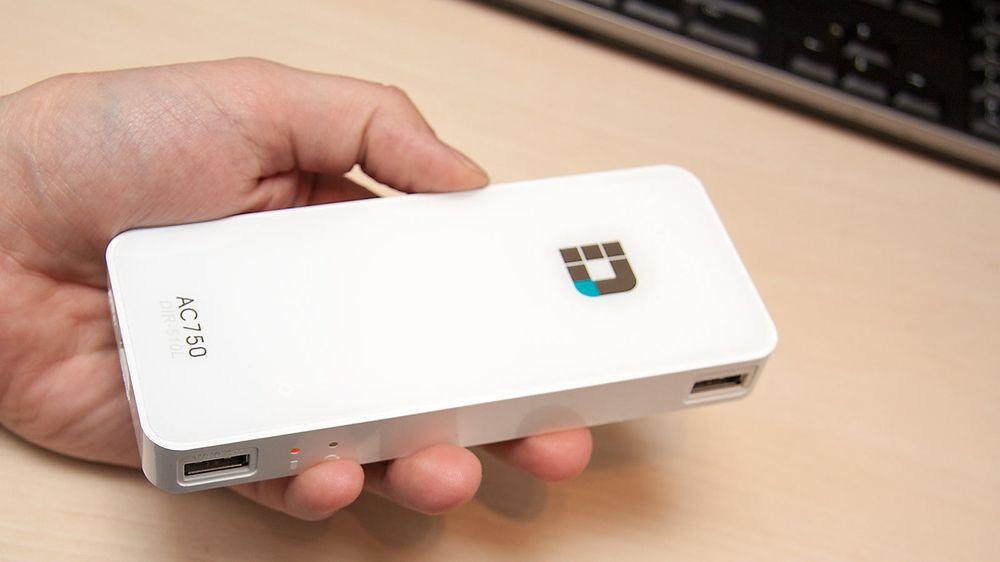 Denne ruteren er batteridrevet, støtter 802.11ac, og får plass i lomma.