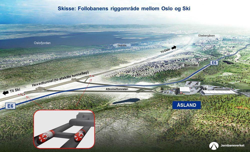 Av 30 selskaper, blir kun seks vurdert for Follobanens første kontrakt.