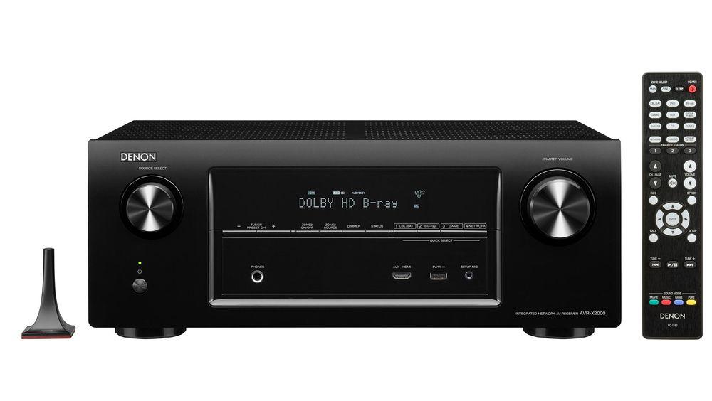 Denon AVR-X2000.