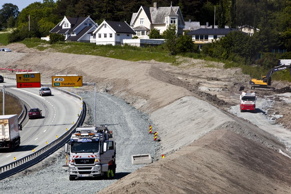 Til tross for en nedgang på byggsiden, er det en samlet vekst på seks prosent i bygg- og anleggsektorens ordrereserver sammenliknet med forige kvartal.