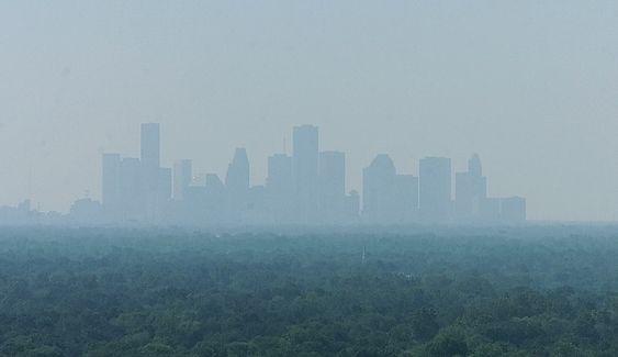 Deler av Houston synker med opptil fem centimeter i året.