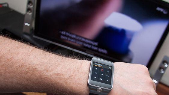 Gear 2 kan brukes som fjernkontroll til TV-en din.