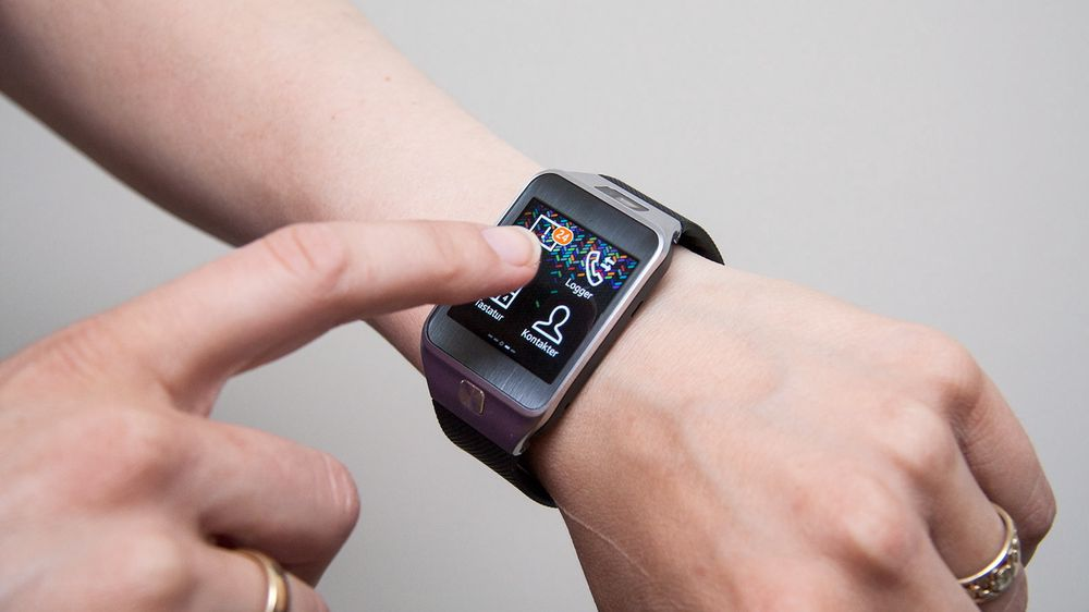 66157973 Samsung Gear 2 er koreanernes andre forsøk på å lage en smartklokke.
