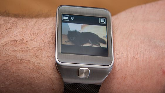 Kameraet kan også brukes til å ta opp video.