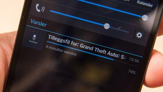 LG har slurvet med oversettelsene flere steder i menyene. Her er et eksempel.