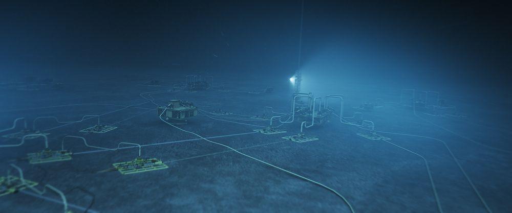 UNDERVANNSFORSKNING: Forskningssenteret skal blant annet se på løsninger som kan gi sanntids informasjon om tilstanden til brønner og subseainstallasjoner.