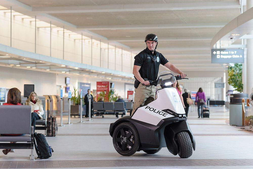 Segways nye trehjulsmodell er beregnet på politi og sikkerhetsfolk.