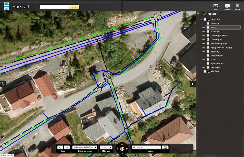 Ved å kombinere geografisk informasjon med kommunale tjenester på en mobilapplikasjon kan Norkart vise til betydelig effektivisering i kommunesektoren.