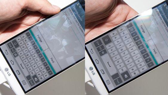 Du kan justere tastaturstørrelsen etter eget ønske.