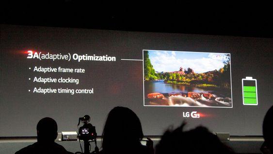 LG har tatt forskjellige grep for å sørge for at skjermen bruker så lite strøm som mulig.