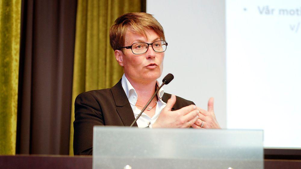 Jeg tror vi bare har sett begynnelsen på en solenergirevolusjon, sa klimaminister Tine Sundtoft på Sonenergidagen i Oslo fredag.