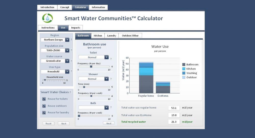 Kalkulator: Ved å legge inn ulike verdier i PC-programmet får en svar på hva en har mulighet til å spare. (Skjermdump).