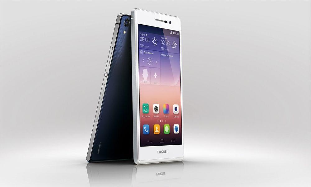 Toppmodell: Huaweis nye Ascend P7 er et imponerende stykke teknologi.