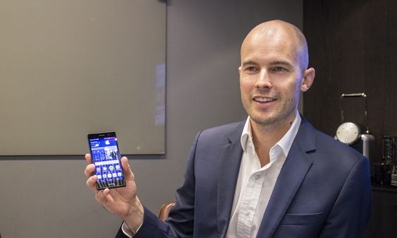 Skal bli store i Norge: Markedssjef for forbrukerenheter i Huawei i Norge, David Stone, vil bruke Ascend P7 til å vokse i Norge.