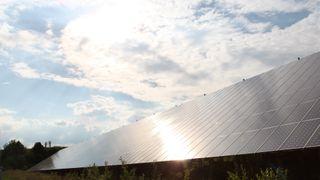 Solkraftutbyggingen bremset opp i Tyskland i fjor