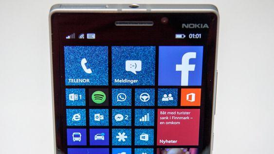 Det er plass til flere fliser i bredden enn tidligere på Windows Phone 8.1.