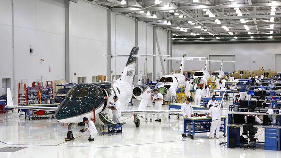 Honda Aircraft Company har nå ni maskiner på sluttmonteringslinja i Greensboro. Planen er å starte leveranser umiddelbart etter FAA-sertifisering i første kvartal neste år.