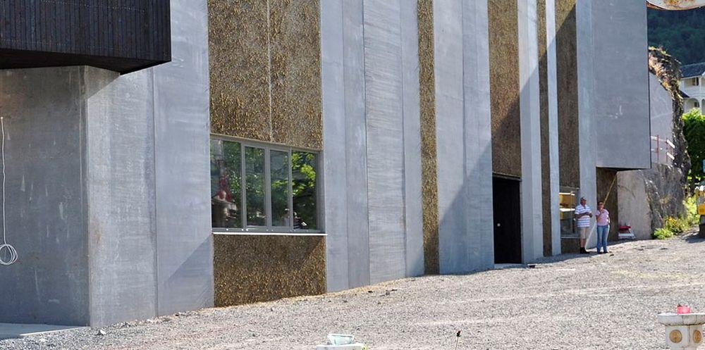 Reiselivsmuseet i Balestrand har fått en spesiell mosekledning.