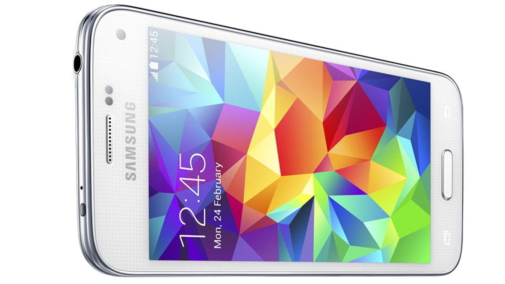 Samsung Galaxy S5 Mini er en mindre utgave av Galaxy S5. Spesifikasjonslisten er også krympet.