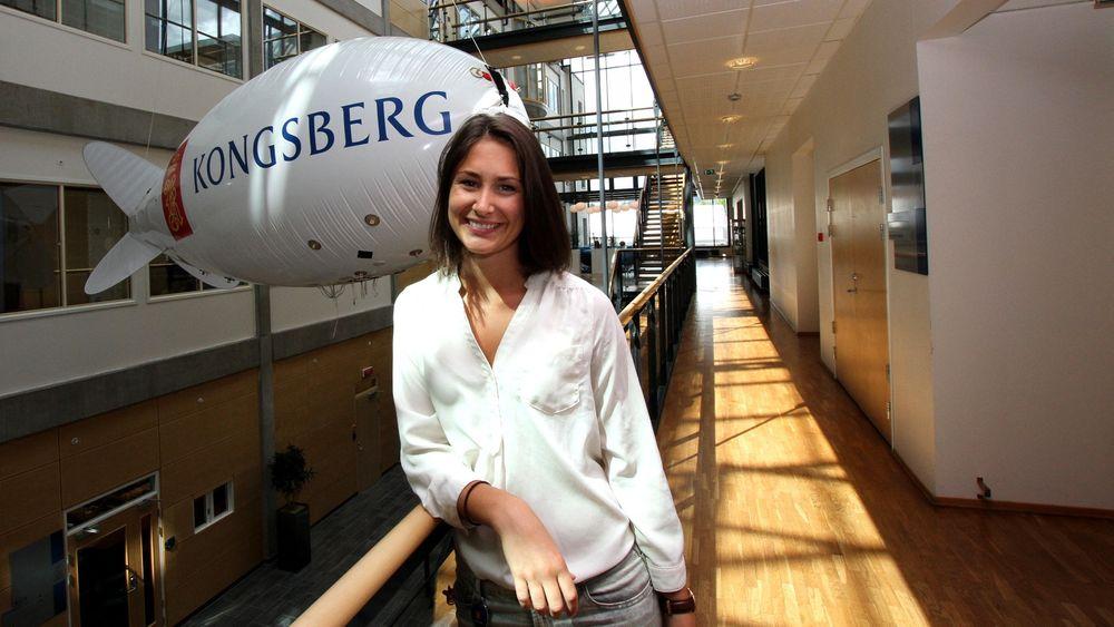 NTNU-student Stine-Marie Hjetland fikk tilslag på somerjobbsøknaden, og skal være prosjektleder for «Zeppaloon» ut sommeren.