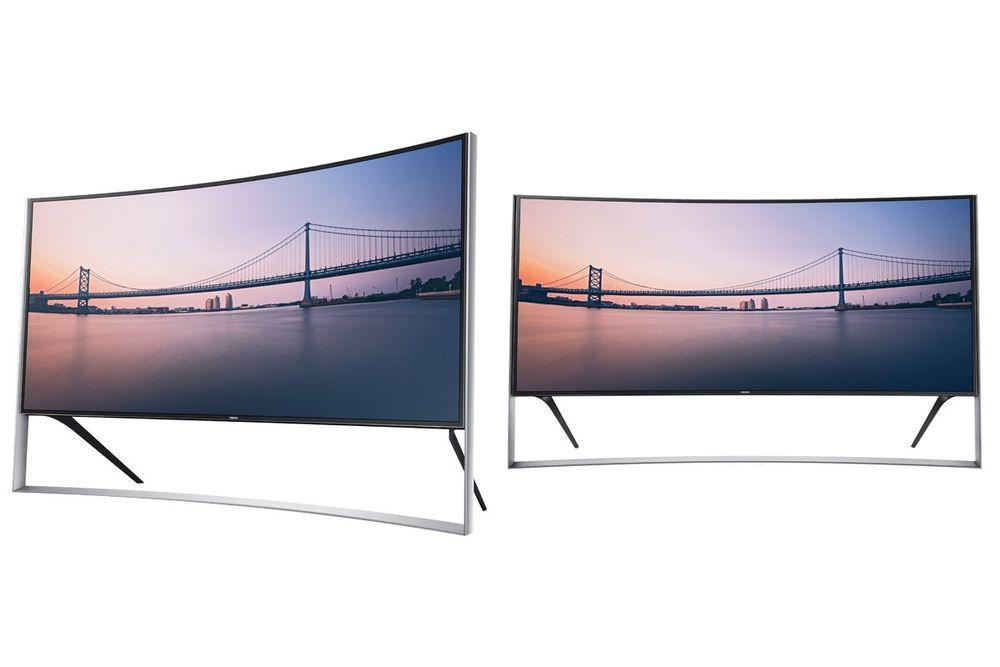 For 800 000 kroner kan Samsungs nye flaggskip bli ditt. Da får du en TV som er ganske utenom det vanlige...
