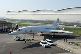 For å få idéen til å fungere, må det elektriske flyet ha store vinger som Concorde.
