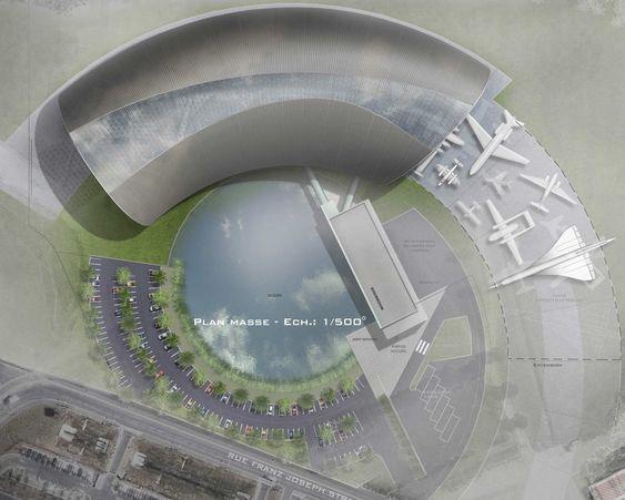 Byggingen av Aeroscopia startet for tre år siden. Planen var å åpne luftfartsmuseet i sommer, men prosjektet er blitt ytterligere forsinket.