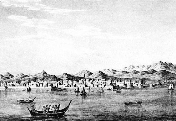 Jeddah på 1500-tallet.