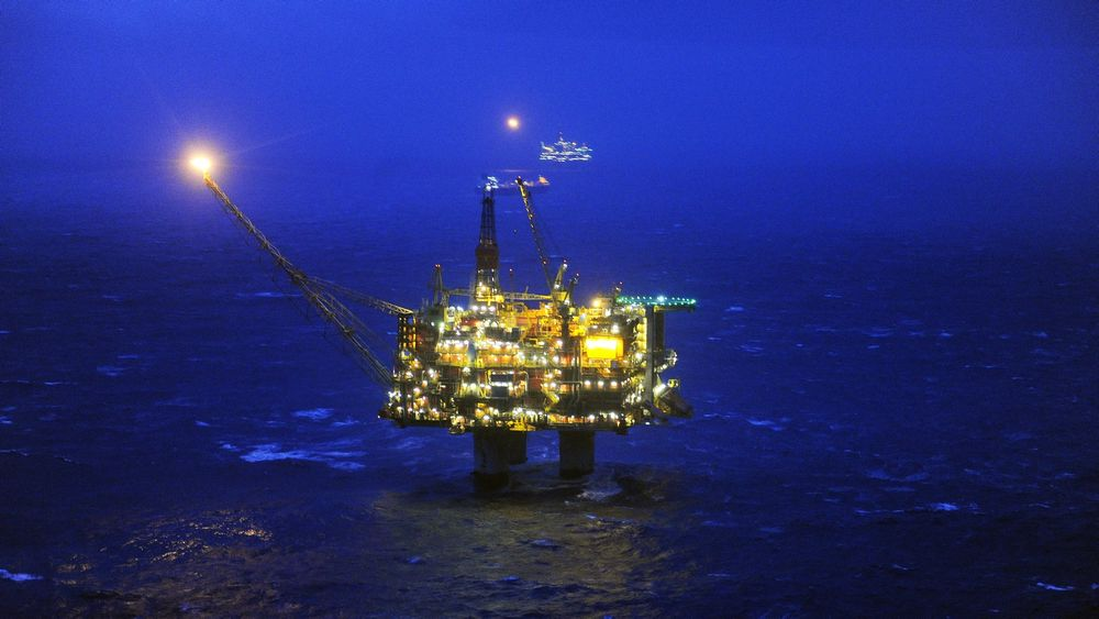 Det har vært nok et oljeutslipp på Statfjord A.