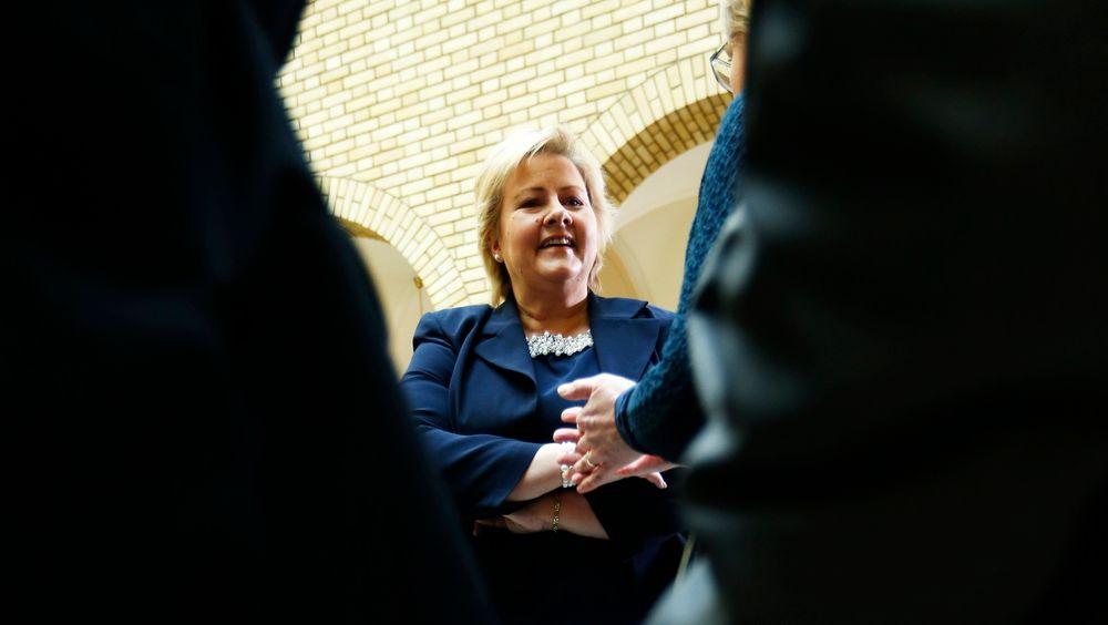 Statsminister Erna Solberg (H) mener norsk gass er viktig for å begrense bruken av kull, og for å sørge for energisikkerhet på dager hvor fornybare kilder som vind og sol ikke dekker behovene.