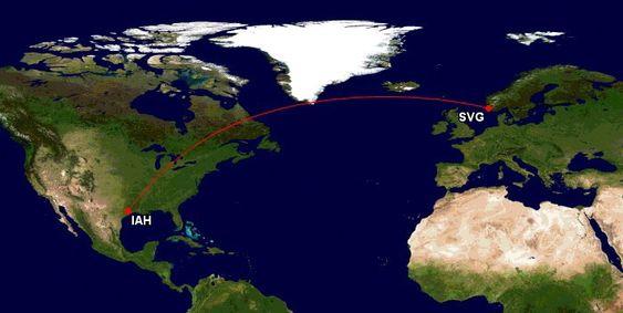 Fra 20. august blir dette den lengste fast oppsatte flyruta som benytter Boeing 737.