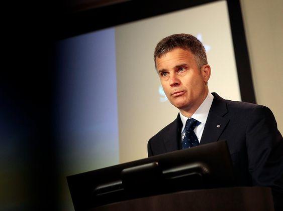 Helge Lund mener Gudrun prosjektet som er gjennomført på tid og under budsjett er et forbilde for Statoil.