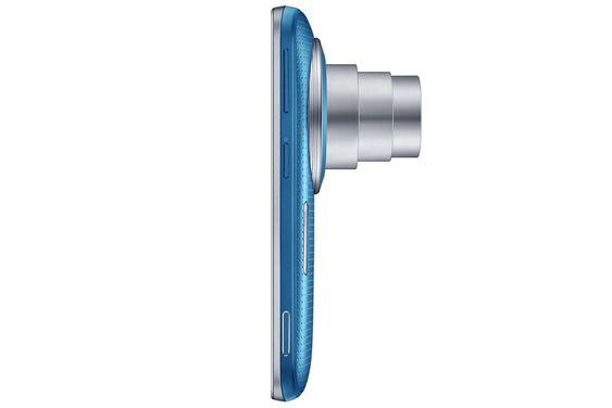 Zoom: Den godt skjulte teleskoplinsen stikker langt ut når man zoomer inn ti ganger