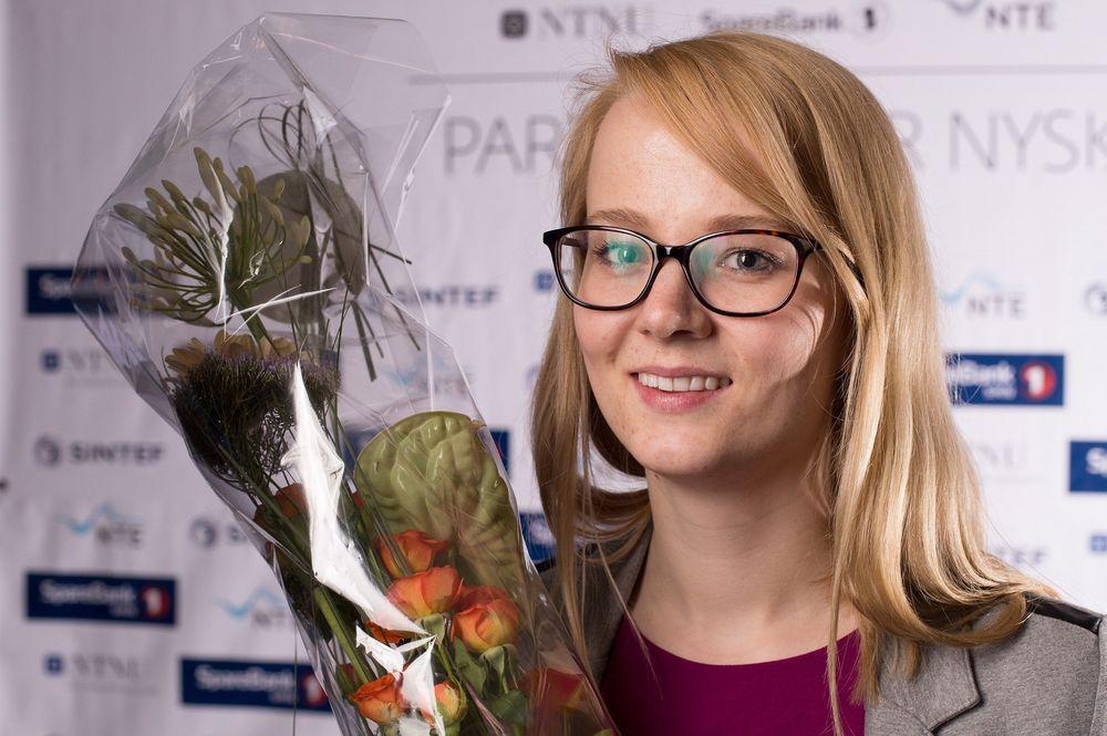 Marit Rødevand, vinneren av Ung innovasjonspris.