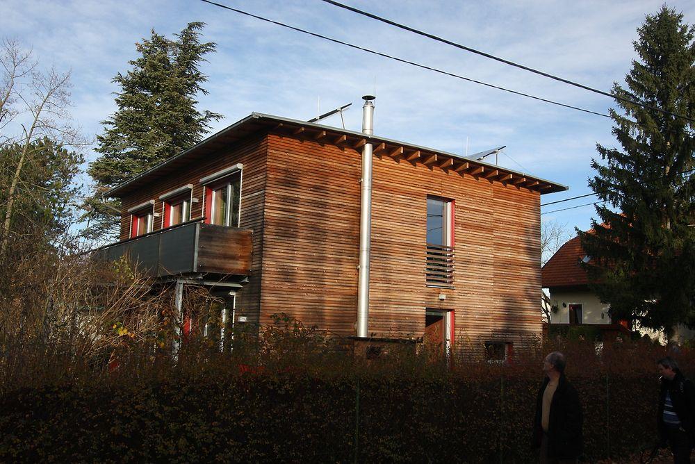 EKTE: Denne boligen i Tyskland er et passivhus bygget etter den originale standarden som sier at 15 kWh/m2/år er maksimalt tillatt bruk til oppvarming.