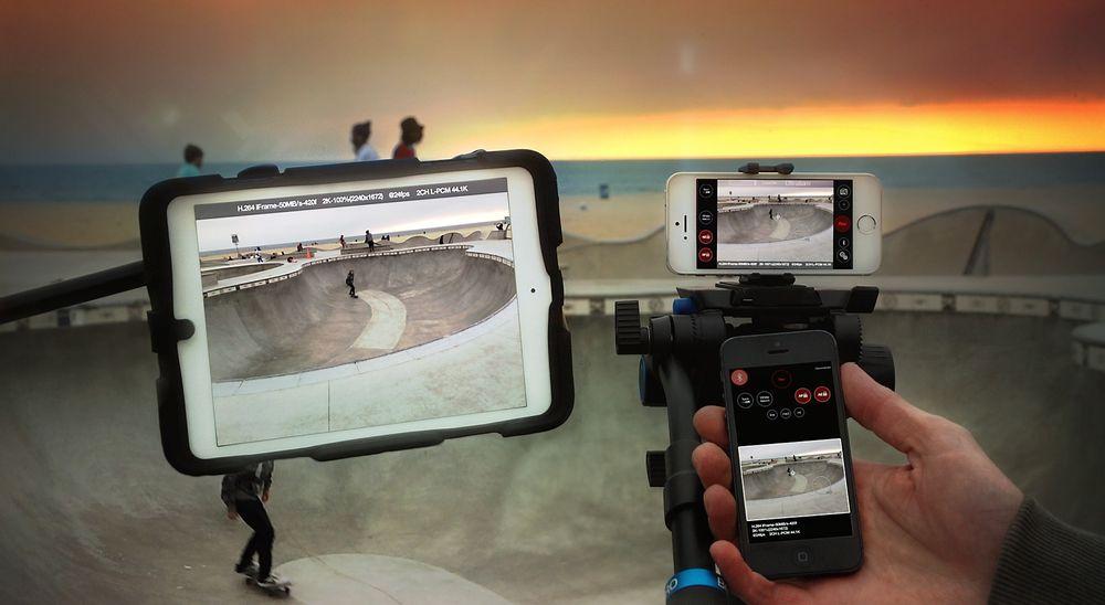 iOS-appen Ultrakam lar deg ta opp video i 2k-oppløsning på iPad og iPhone.