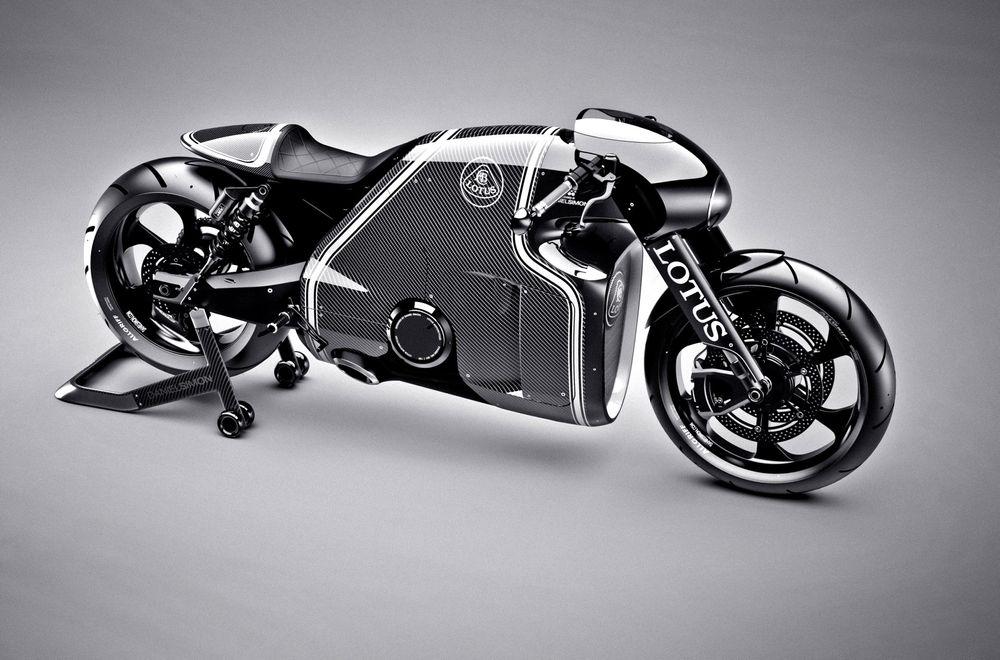 Den futuristiske motorsykkelen C-01 blir kun produsert i 100 eksemplarer.