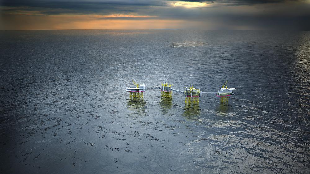 Ikke oppblåst: Statoil sier de ikke forsøker å blåse opp kostnadene for en 200 MW-løsning for Utsirahøyden, og at måten å regne  påslag i kostnadene på er vel kjent i bransjen. Illustrasjon: Statoil